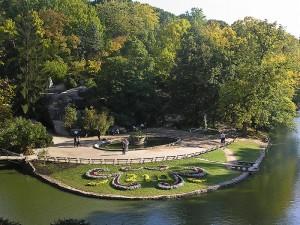 Умань. Софиевский парк. Центральная площадь парка